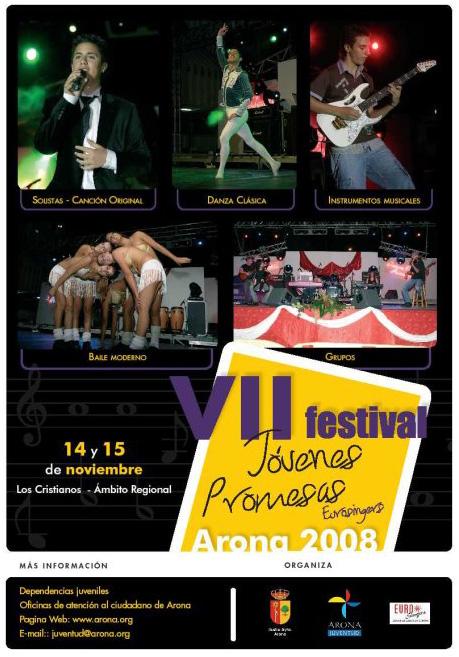 Jovenes Promesas Eurosingers Arona 2008