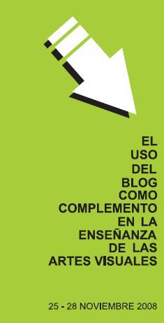 Curso El uso del Blog como complemento en la enseñanza de las Artes Visuales