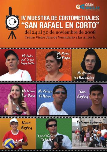 IV Muestra de cortometrajes San Rafael en corto