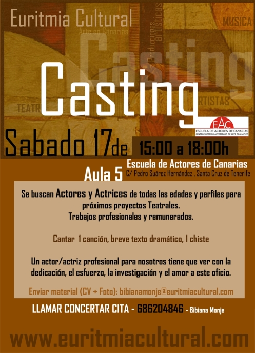 Casting Euritmiacultural