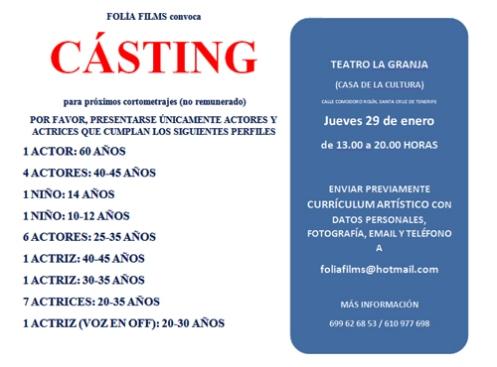 Casting Folias Films