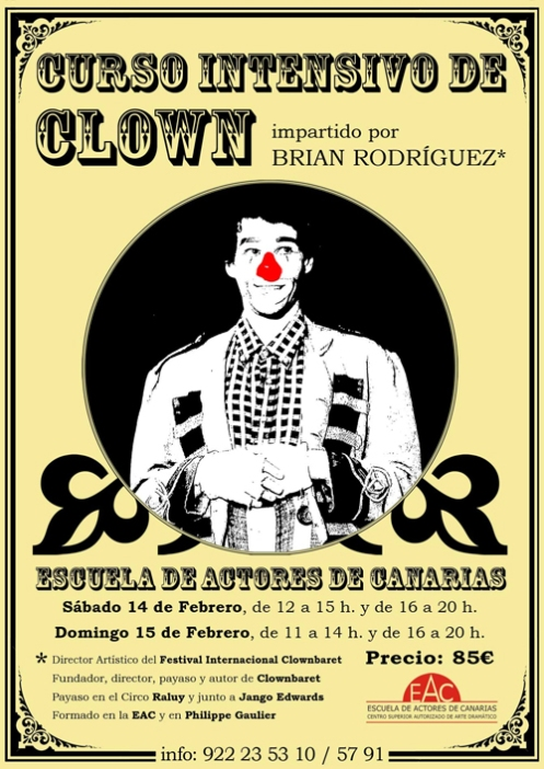 Curso intensivo de Clown