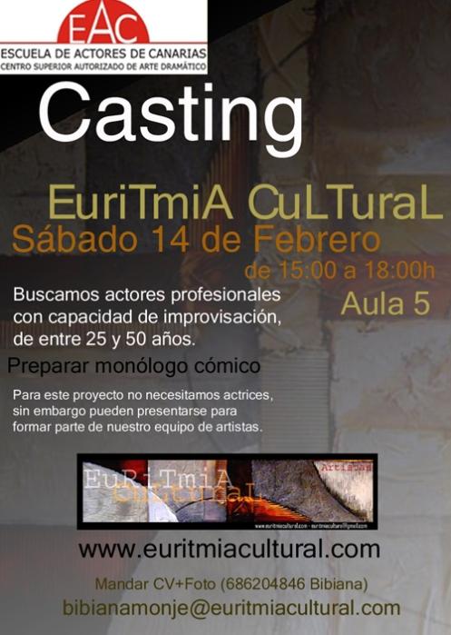Casting Euritmia Cultural 2