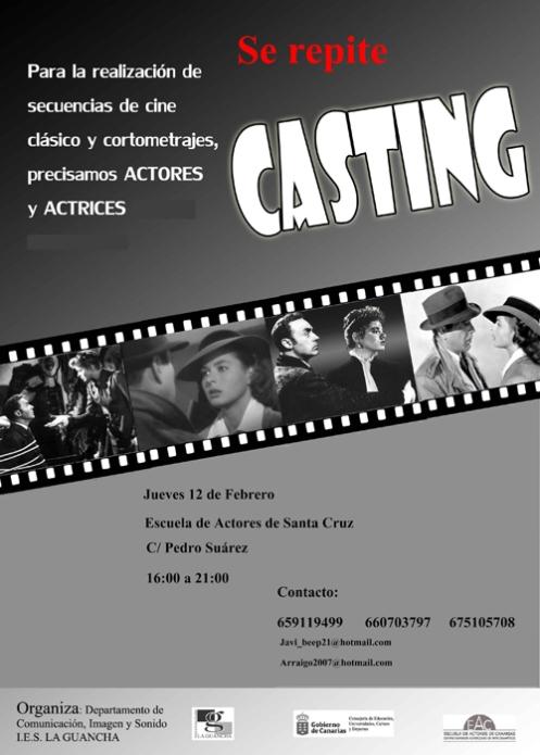 Casting IES La Guancha Febrero 2009