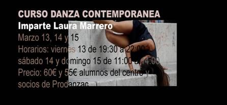Curso de Danza Contemporanea