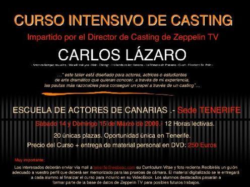 Curso de Casting