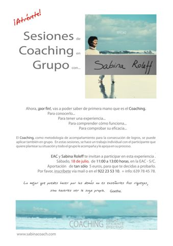 Coaching grupo EAC