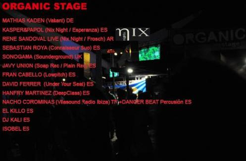 Organic Stage