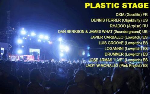 Plastic Stage