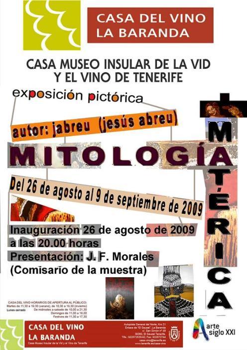 Exposición Mitología Matérica