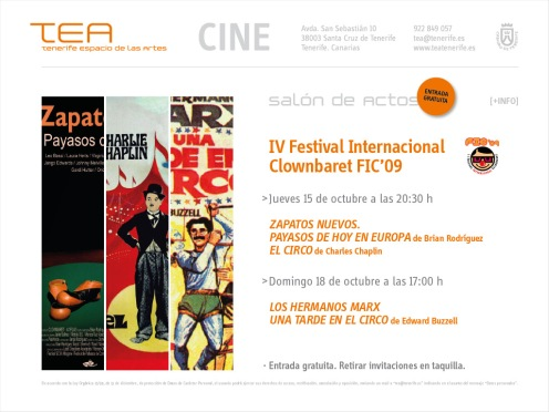 IV Festival Internacional Clownbaret FIC '09